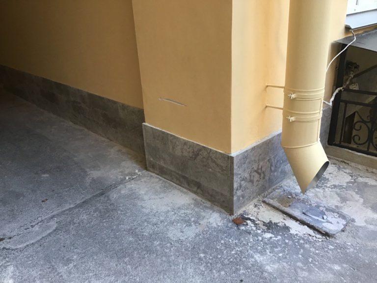 Замечания к качеству ремонта фасада. Приемка работ.